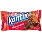 Печенье-сэндвич Super Kontik шоколадный вкус 100г