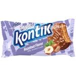 Konti Super Kontik Milky Sandwich Cookie with Hazelnut Flavor 100g