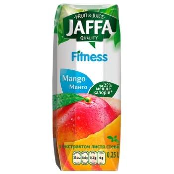 Нектар Jaffa Fitness из плодов манго 0,25л