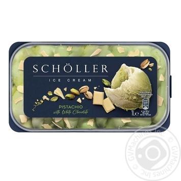Мороженое Scholler Фисташка с белым шоколадом 557г - купить, цены на СитиМаркет - фото 2