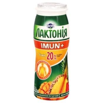 Laktonia Multifruit Imun+ Fermented Milk Drink 1,5% 100g - buy, prices for MegaMarket - image 1