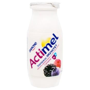 Danone Actimel Wild Berries Flavored Fermented Milk Product 1,5% 100g - buy, prices for EKO Market - photo 1
