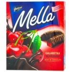 Мармелад Mella с соком вишни в черном шоколаде 190г