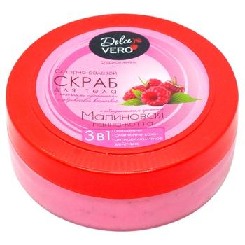 Dolce Vero Body Scrub Raspberry Panna Cotta 250g - buy, prices for CityMarket - photo 1