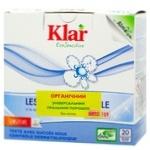 Порошок пральний Klar Eco Sensitive органічний універсальний з екстрактом мильного горіха 1,1 кг