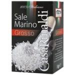 Casa Rinaldi Grosso Sea Salt 1kg