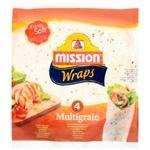 Тортилья Mission Foods Wraps Мультизлакова 4шт. 245г