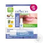 Бальзам для губ Біокон Інтенсивне зволоження 4,6г - купити, ціни на МегаМаркет - фото 1