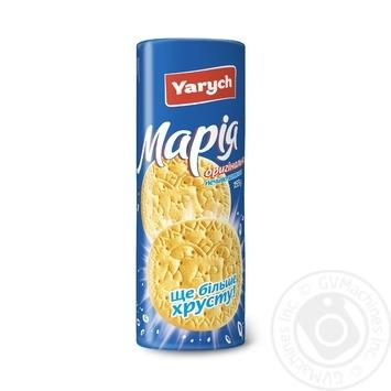 Печенье Yarych Мария оригинальная 155г - купить, цены на Novus - фото 1