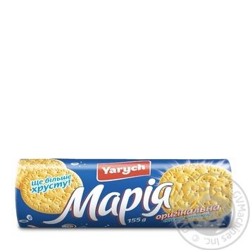 Печенье Yarych Мария оригинальная 155г - купить, цены на Novus - фото 2