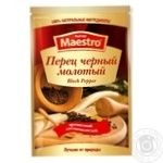 Перец черный Red Hot Maestro молотый 15г - купить, цены на Novus - фото 1