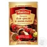 Приправа Red Hot Maestro до гриля и шашлыка 25г - купить, цены на Novus - фото 1