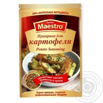 Приправа Red Hot Maestro к картофелю 25г - купить, цены на Novus - фото 1