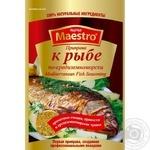 Приправа Red Hot Maestro К рыбе по-средиземноморскому 25г - купить, цены на Novus - фото 1