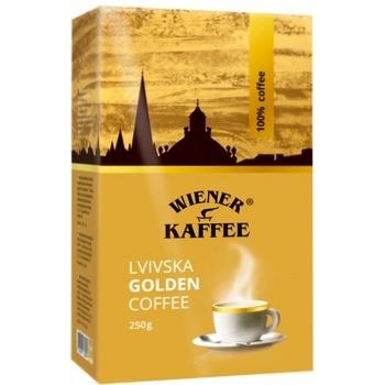 Lvivska Golden Coffee Ground 250g - buy, prices for CityMarket - photo 2