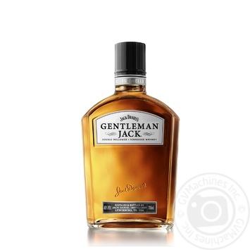 Виски Jack Daniel's Gentleman Jack 40% 0,7л - купить, цены на СитиМаркет - фото 1