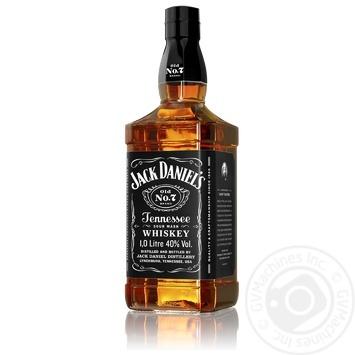 Виски Jack Daniel`s Old No. 7 40% 1л - купить, цены на Фуршет - фото 2