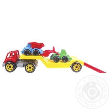 Іграшка Technok Автовоз з будмайданчиком - купити, ціни на Ашан - фото 4