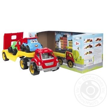 Іграшка Technok Автовоз з будмайданчиком - купити, ціни на Ашан - фото 1