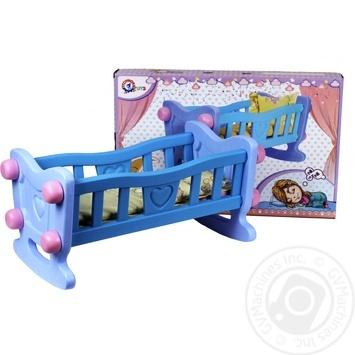 Іграшка Колиска для ляльки TechnoK - купити, ціни на Novus - фото 1