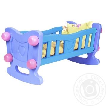 Іграшка Колиска для ляльки TechnoK - купити, ціни на Novus - фото 2