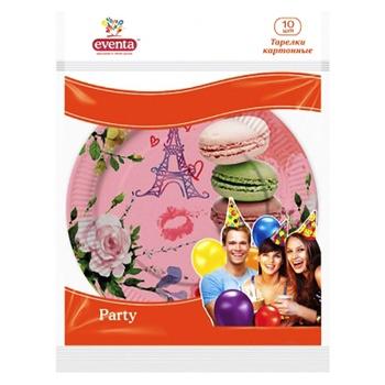 Бумажные тарелки с рисунком Eventa 10шт - купить, цены на Фуршет - фото 6
