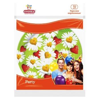 Бумажные тарелки с рисунком Eventa 10шт - купить, цены на Фуршет - фото 2