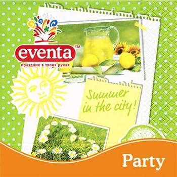 Eventa Three-Layer Napkins Paper 20pc - buy, prices for Tavria V - image 2