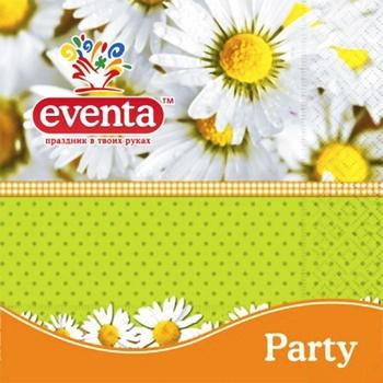 Eventa Three-Layer Napkins Paper 20pc - buy, prices for Tavria V - image 3