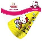 Ковпаки паперові Eventa Hello Kitty D13см 6шт