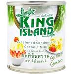 Молоко згущене King Island кокосове 380г