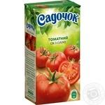 Сок Садочок томатный с солью 0,5л