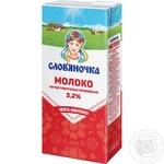 Молоко Слов'яночка ультрапастеризованое 3,2% 1000г