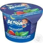 Agusha Strawberry-melissa flavor yogurt 2,8% 90g