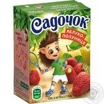 Sadochok apple-strawberry juice 0,2l - buy, prices for Novus - image 1