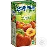 Sadochok peach juice 0,5l