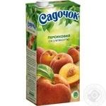 Сок Садочок персиковый 0,95л