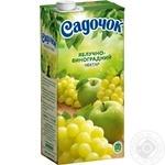 Нектар Садочок яблочно-виноградный 0,95л