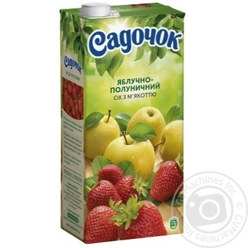 Sadochok apple and strawberry juice 1,93l