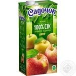 Sadochok apple juice 0,95l