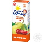 Agusha For Children From 5 Months Apples And Cherry Juice 200ml