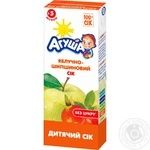 Agusha apples and dog-rose juice for 5+ months babies 200ml