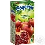Нектар Садочок яблочно-гранатовый 0,5л