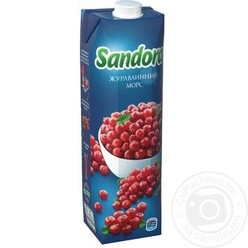 Морс Sandora клюквенный 950мл - купить, цены на Novus - фото 1
