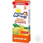 Сок Агуша яблоко-абрикос 200мл