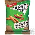 Сухарики ХрусTeam вкус острый чили 70г
