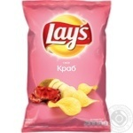 Lay's potato chips with crab flavor 133g
