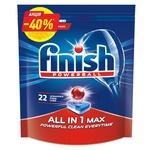 Таблетки для посудомоечной машины Finish All in One Max 22шт