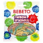 Цукерки жувальні Bebeto Спагеті Веселка 80г
