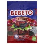 Bebeto Chewing Candies Berries 70g